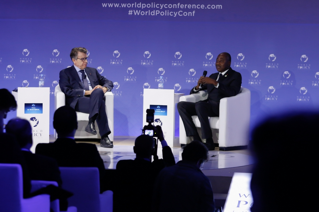 WPC 2018 - Thierry de Montbrial et Amadou Gon Coulibaly