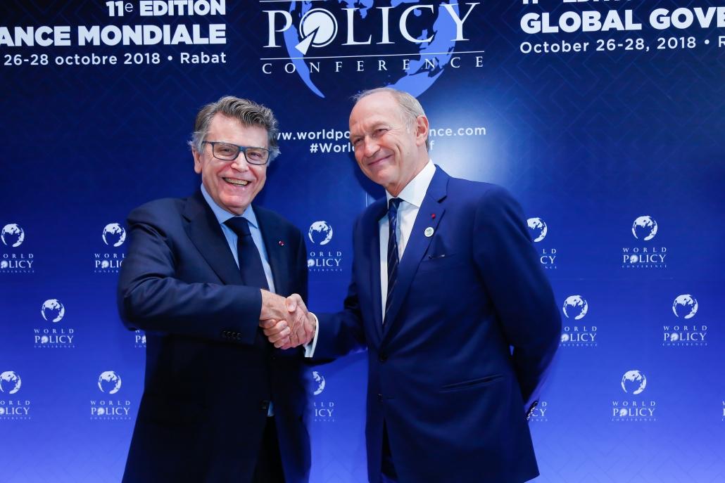 WPC 2018 - Thierry de Montbrial et Jean-Paul Agon