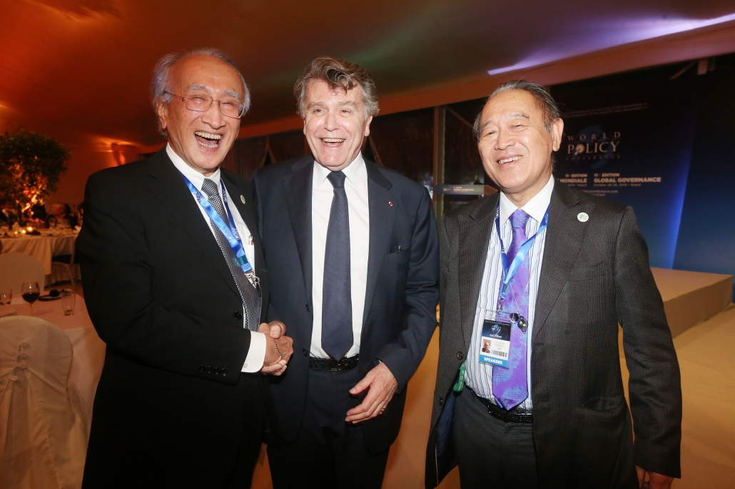 WPC 2018 - Nobuo Tanaka ; Thierry de Montbrial ; Ichiro Fujisaki