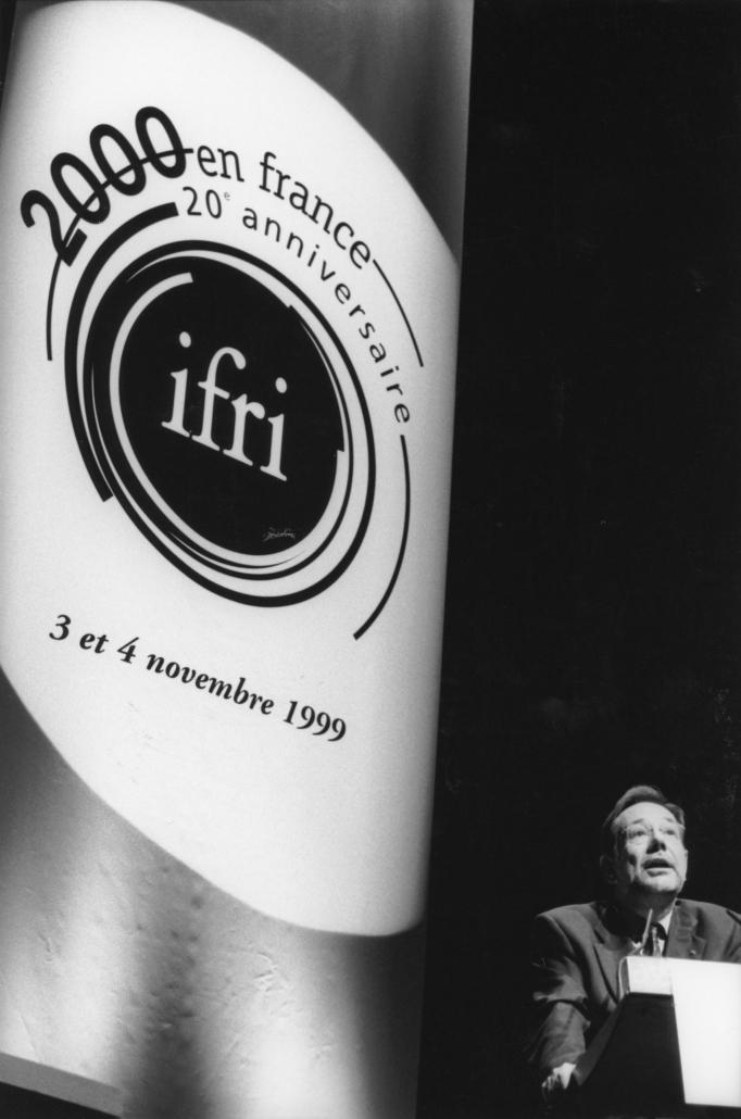 Javier Solona, 20° anniversaire de l'Ifri, 1999