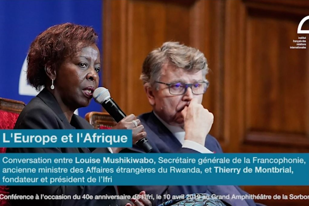 Conversation entre Louise Mushikiwabo et Thierry de Montbrial