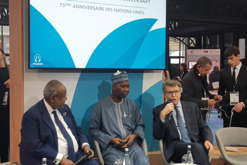 Panel discussion at Paris Peace Forum, November 19, 2019