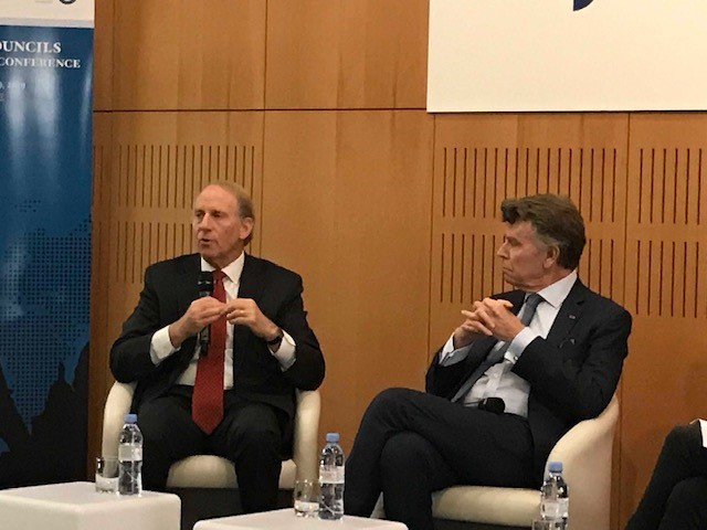 12th regional conference of the Council of councils, Richard Haass and Thierry de Montbrial, Ifri novembre 2019