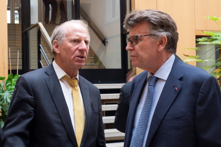 Council of councils, Richard Haass et Thierry de Montbrial, Ifri novembre 2019
