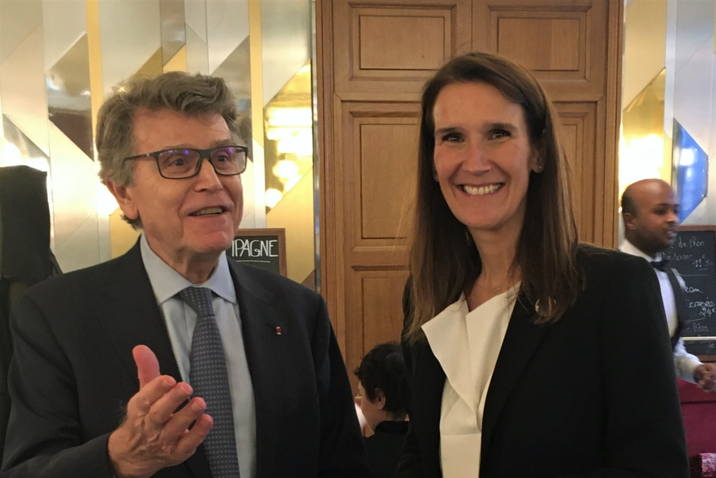 Sophie Wilmès, Premier Ministre de Belgique, Thierry de Montbrial, Forum de Paris sur la paix le 11 novembre 2019