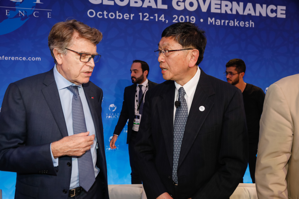 WPC 2019, Marrakech, October 14 Thierry de Montbrial, Qiao Yide