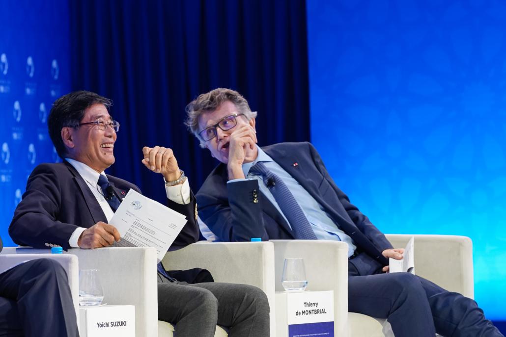 WPC 2019, Marrakech, October 14 Yoichi Suzuki, Thierry de Montbrial