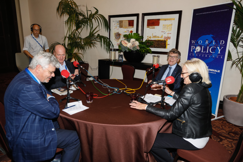 WPC 2019, Marrakech, October 12-14 Michel Foucher, Renaud Girard, Thierry de Montbrial