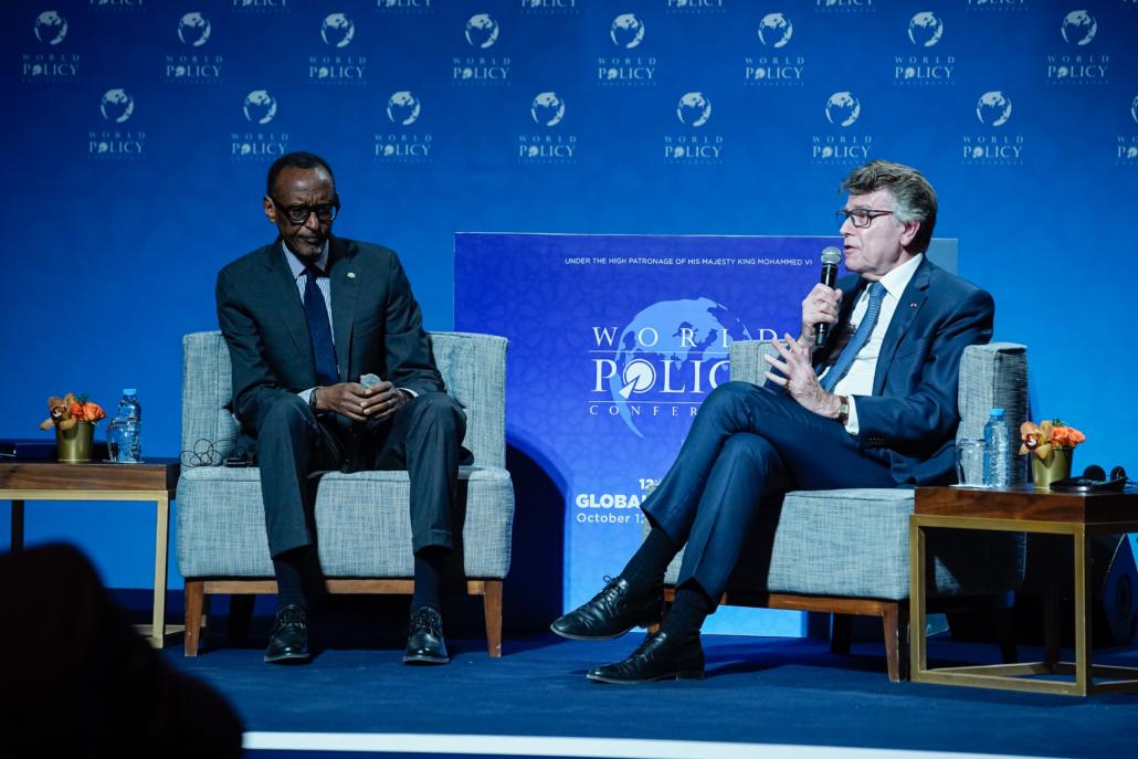 WPC 2019, Marrakech, October 12 Paul Kagame, Thierry de Montbrial