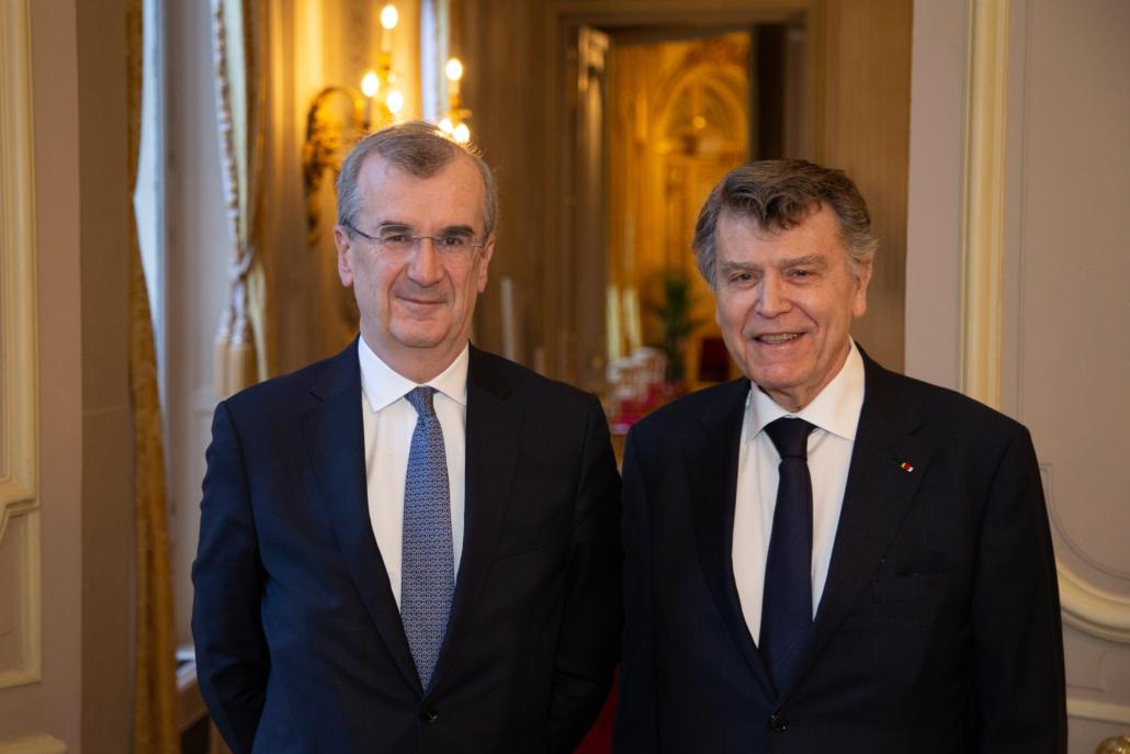 Petit-déjeuner avec François Villeroy de Galhau, Gouverneur de la banque de France, Ifri, le 17 février 2020