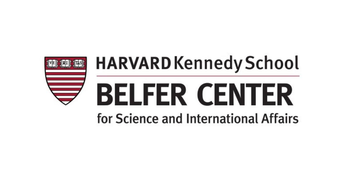Harvard Belfer center for Science and International Affairs