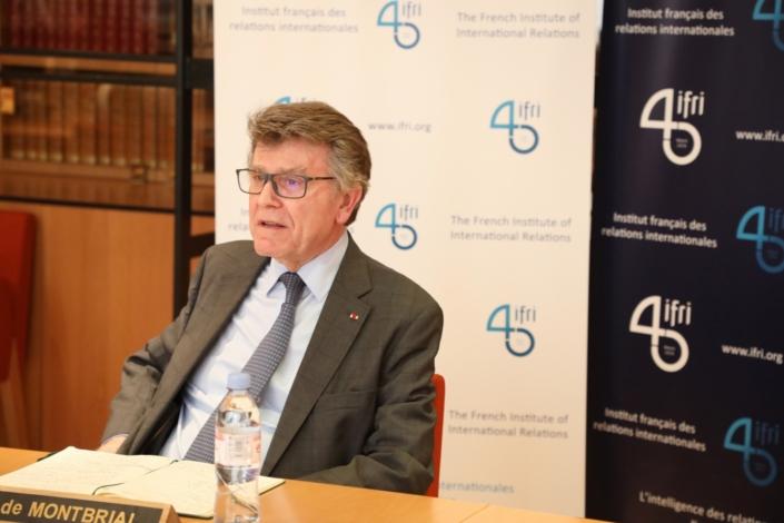 Thierry de MOntbrial visioconference Ifri sur les conséquences du covid