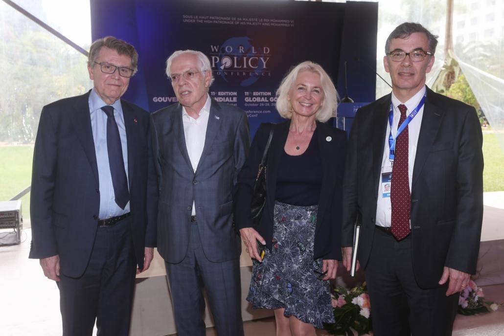 WPC 2018, Thierry de Montbrial, Jean-Claude Gruffat, Marie-Christine de Montbrial, Robert Sigal