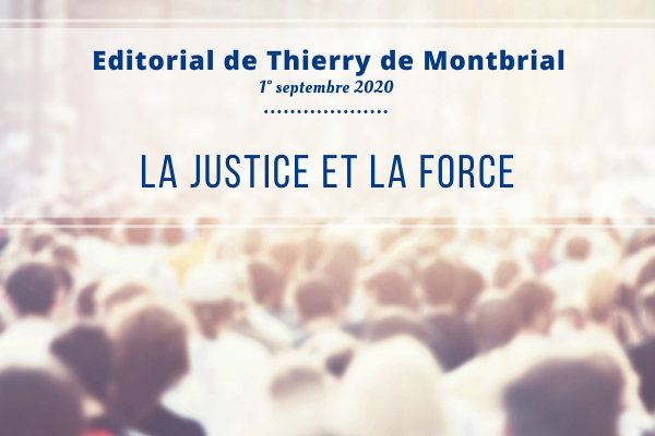 Editorial Thierry de Montbrial Septembre 2020